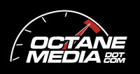 Octane Media Logo - Black Background