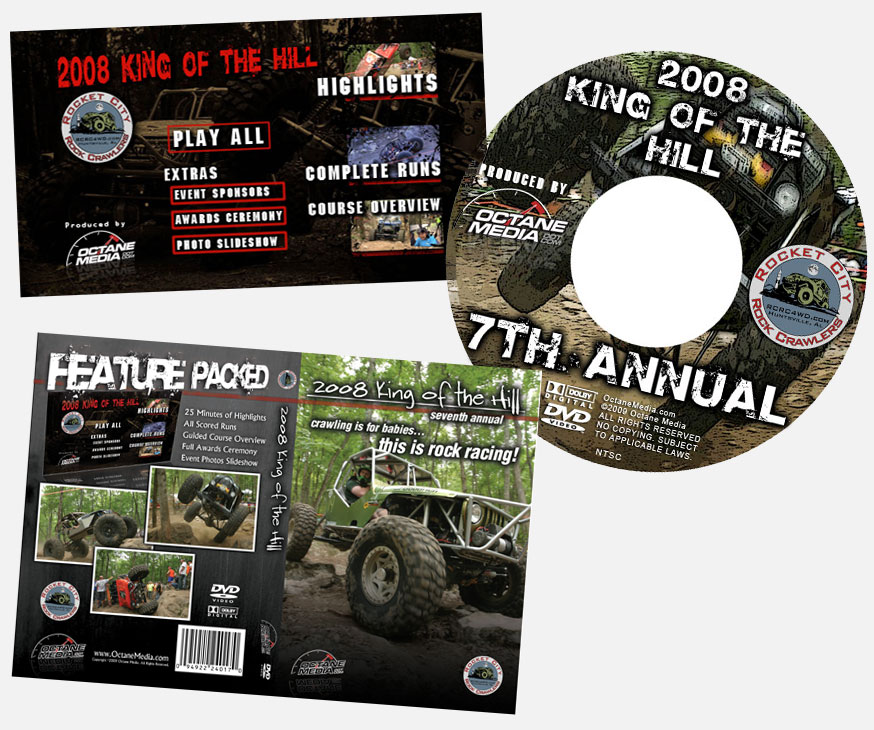 KOTH DVD Artwork
